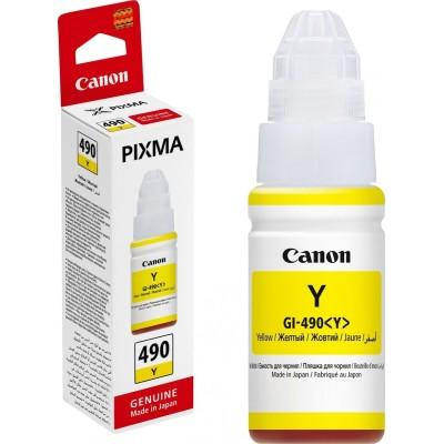Canon GI-490Y Yellow (0666C001)