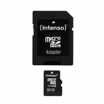 Intenso microSDHC 32GB Class 10 with Adapter