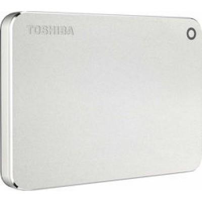 Toshiba Canvio Premium 1TB Silver Metallic (New)