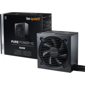 Be Quiet Power Supply 10 600W