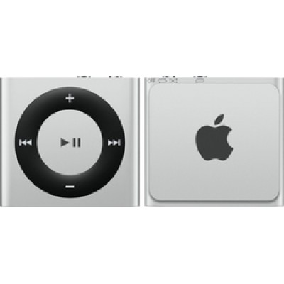 Apple iPod Shuffle 2GB 4th Generation 2015 Silver