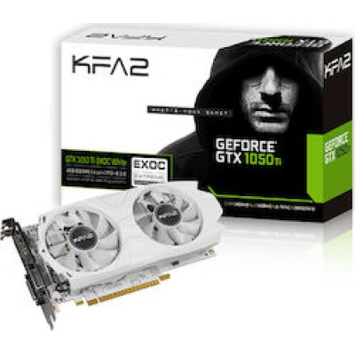 KFA2 GeForce GTX 1050 Ti 4GB EXOC White (50IQH8DVP1WK)