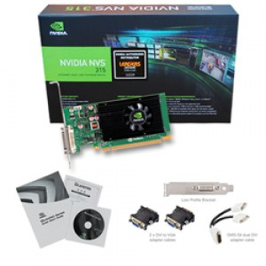 PNY Quadro NVS 315 1GB x16 for DVI/VGA