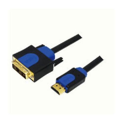 LogiLink Cable DVI-D male - HDMI male 1m (CHB3101)