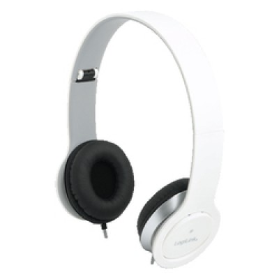 LogiLink Stereo High Quality Headset White