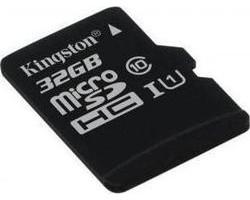 Kingston microSDHC 32GB U1 (45MB/s)