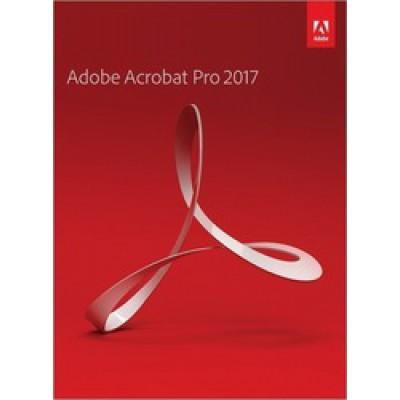 Adobe Acrobat Pro 2017 (Windows)