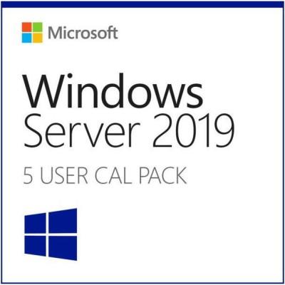 Microsoft Windows Server 2019 (5 User Cals)