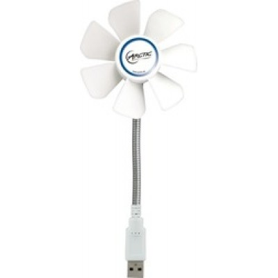 USB Mobile Fan Breeze White