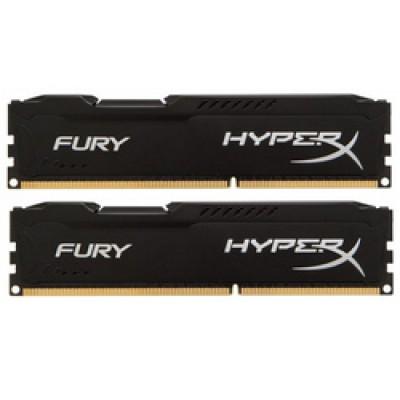 Kingston HyperX Fury Black 8GB DDR3-1866MHz (HX318C10FBK2/8)