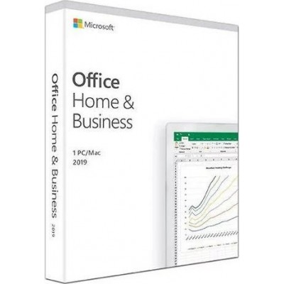 Microsoft Office Home and Business 2019 English EuroZone (Medialess P6)