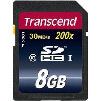 Transcend Premium 200x SDHC 8GB Class 10