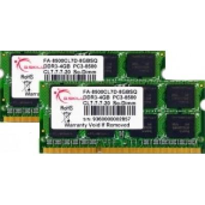 G.Skill 8GB DDR3-1066MHz Mac (FA-8500CL7D-8GBSQ)