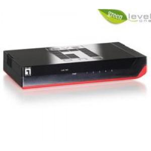 Level One GSW-0507V2 5-Port Gigabit Switch