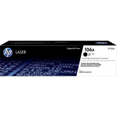 HP 106A Black Toner (W1106A)