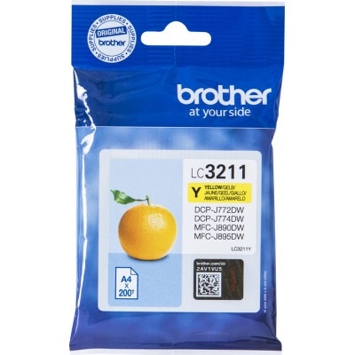 Brother LC-3211 Yellow (LC-3211Y)