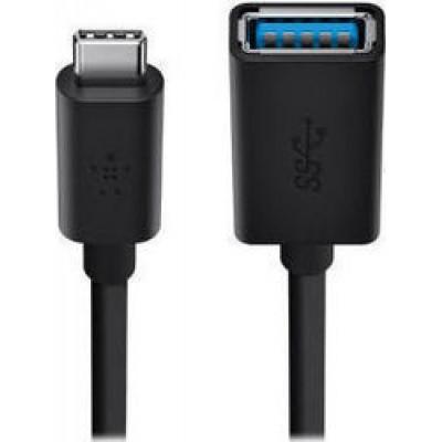 Belkin USB-C male - USB-A female (F2CU036BTBLK)