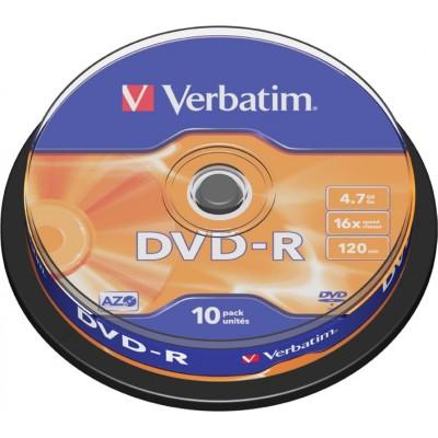 Verbatim DVD-R 4.7GB 10 pieces