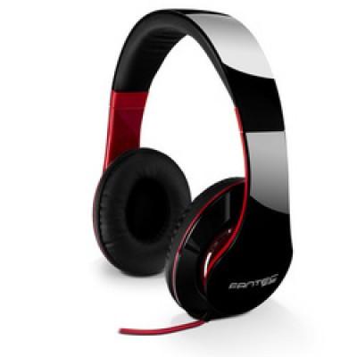 Fantec Headphones SHP-250AJ-TQ Black / Red