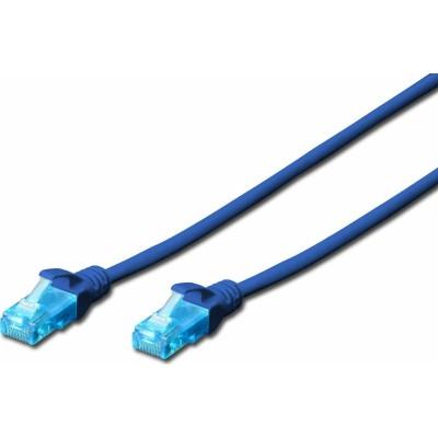 Digitus U/UTP Cat5e Cable 1m Blue