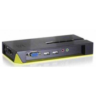 Level One KVM Switch with Audio KVM-0421