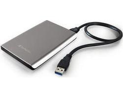 Verbatim Store 'n' Go Ultra Slim Portable Hard Drive 500GB USB 3.0 Silver