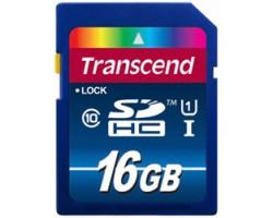 Transcend Premium SDHC 16GB U1