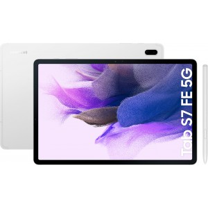 """Samsung Galaxy Tab S7 FE 5G 12.4"""" με WiFi+5G και Μνήμη 64GB Silver"""