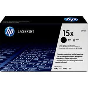 HP 15X Black Toner High Yield (C7115X)