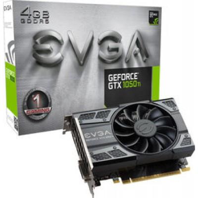 EVGA GeForce GTX1050 Ti 4GB Gaming (04G-P4-6251-KR)
