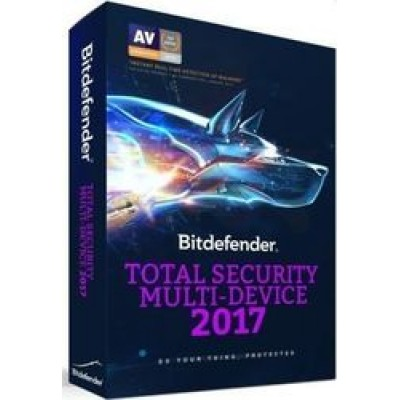 BitDefender Total Security 2017 Multi-Device (10 Licences , 1 Year)