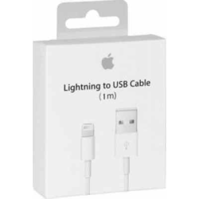 Apple USB to Lightning Cable White 1m (MD818)