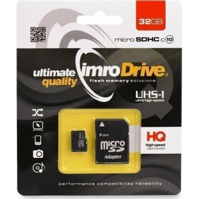 IMRO microSDHC 32GB U1 with Adapter