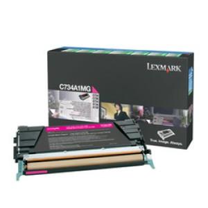 Lexmark C734A1MG Magenta Toner Cartridge