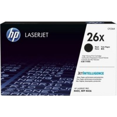 HP 26X Black Toner High Yield (CF226X)