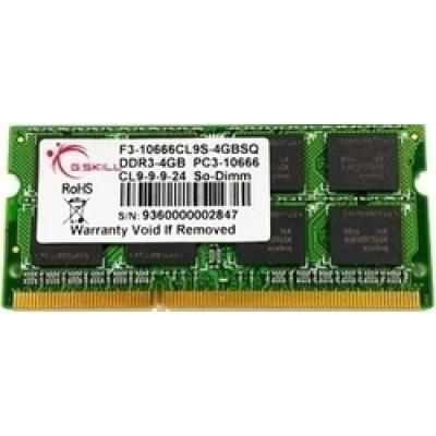 G.Skill 2GB DDR3-1333MHz (F3-10666CL9S-2GBSQ)