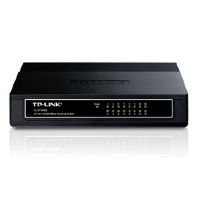 TP-LINK 16-port Unmanaged 10/100M Desktop Switch v6