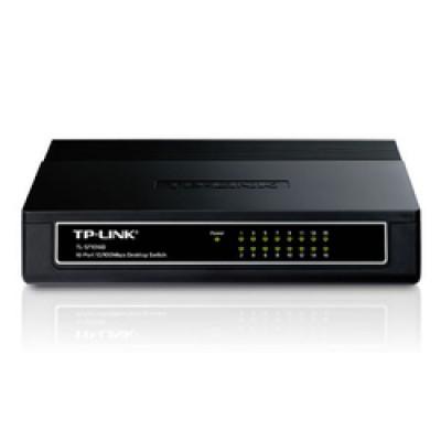 TP-LINK 16-port Unmanaged 10/100M Desktop Switch v6