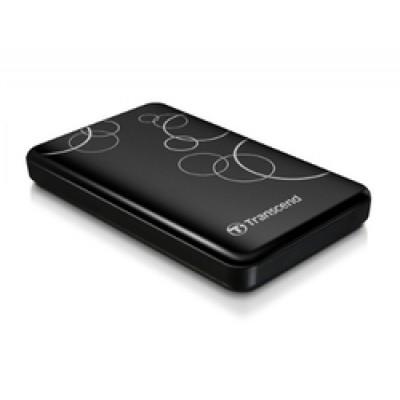 "Transcend Storejet A3 2.5"" 1TB USB 3.0,  Black"