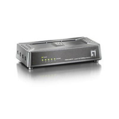 Level One FSW-0508TX 5 Port Mini Fast Ethernet Switch