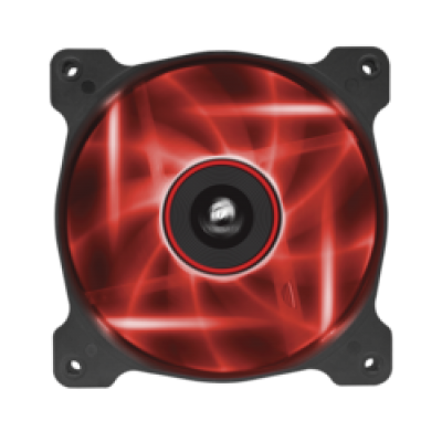 Corsair AF120 LED Red Quiet Edition High Airflow 120mm