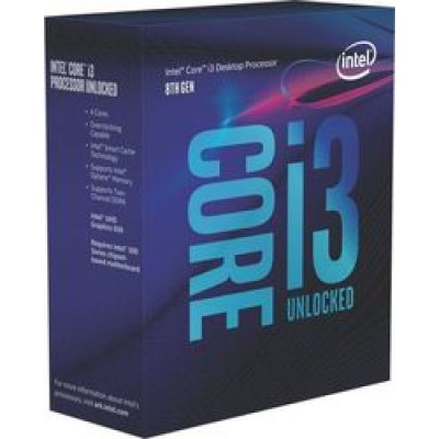Intel Core i3-8350K Box