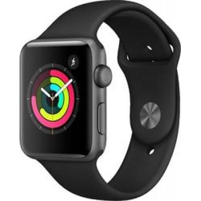 Apple Watch Series 3 Space Grey Aluminium 42mm (Black Loop)