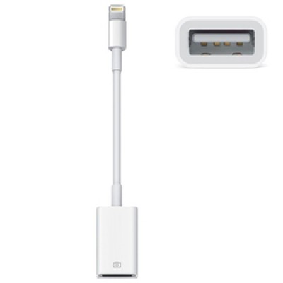 Apple Lightning male - USB 2.0 Camera female (MD821)