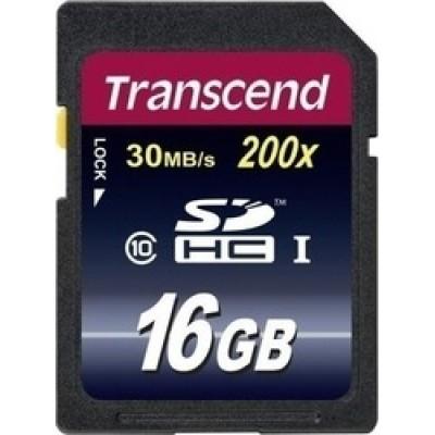 Transcend Premium 200x SDHC 16GB Class 10