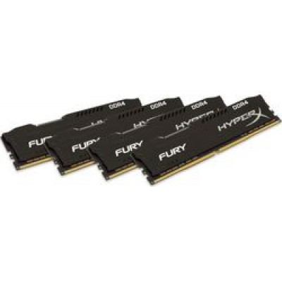 Kingston HyperX Fury Black 32GB DDR4-2666MHz (HX426C16FB2K4/32)