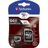 Verbatim Premium microSDXC 64GB U1 with Adapter