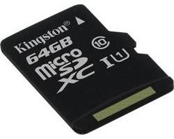 Kingston microSDXC 64GB U1