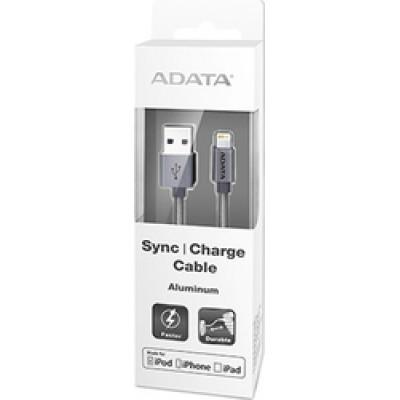 Adata Regular USB to Lightning Cable Titanium 1m (AMFIAL-100CMK-CTI)