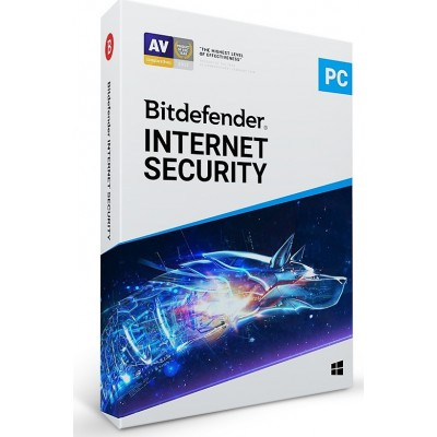 BitDefender Internet Security 2019 (3 Licences , 1 Year)